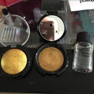 Pat McGrath Metalmorphosis gold kit